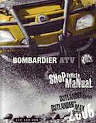 2006 Can-Am Bombardier Outlander Series 400 and 800 Shop Manual