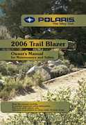 2006 Polaris ATV Trail Blazer Owners Manual