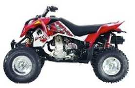 2008 Polaris ATV Outlaw 450/525 Service Manual