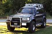 1990 Toyota Land Cruiser (Station Wagon) Repair Manual for Chassis and Body