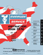 1976 Evinrude 40HP outboards Service Manual