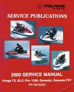 2000 Polaris Virage TX, SLX, Pro 1200, Genesis, Genesis FFI Personal Watercraft Service Manual