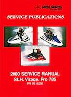 2000 Polaris Pro 785 Service Manual