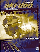 2004 Skidoo ZX Series Service Manual